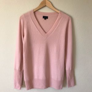 J. Crew Collection 100% Cashmere Sweater V Neck